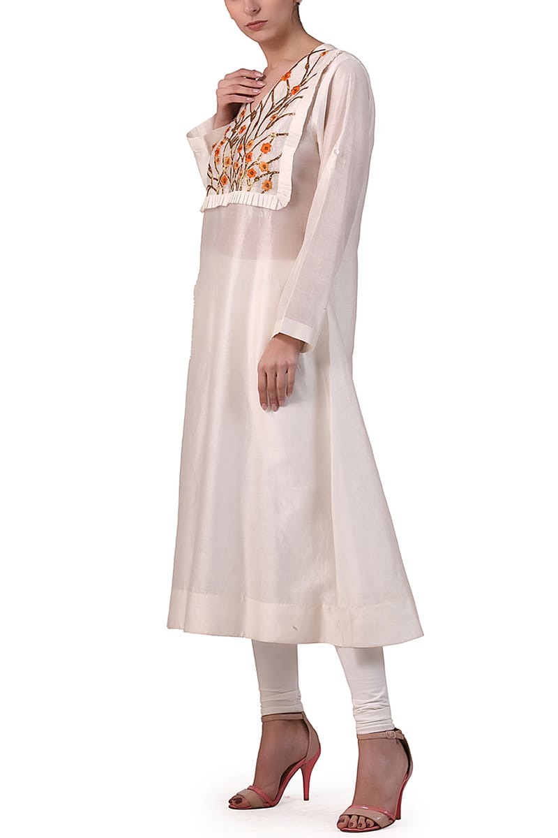 Yoke Detailed Kurta