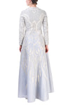 Round-Neck Embroidered Dress