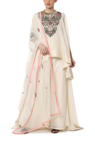 Panel Embroidery Kaftan