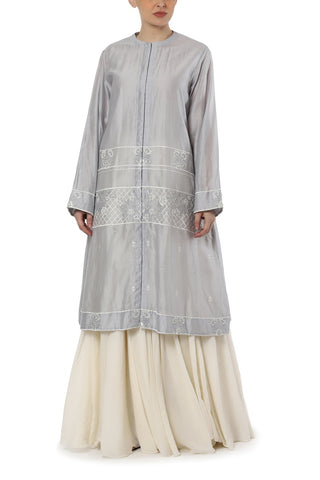 Embroidered Straight Kurta