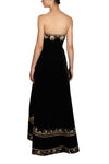 Embroider Bustier Gown