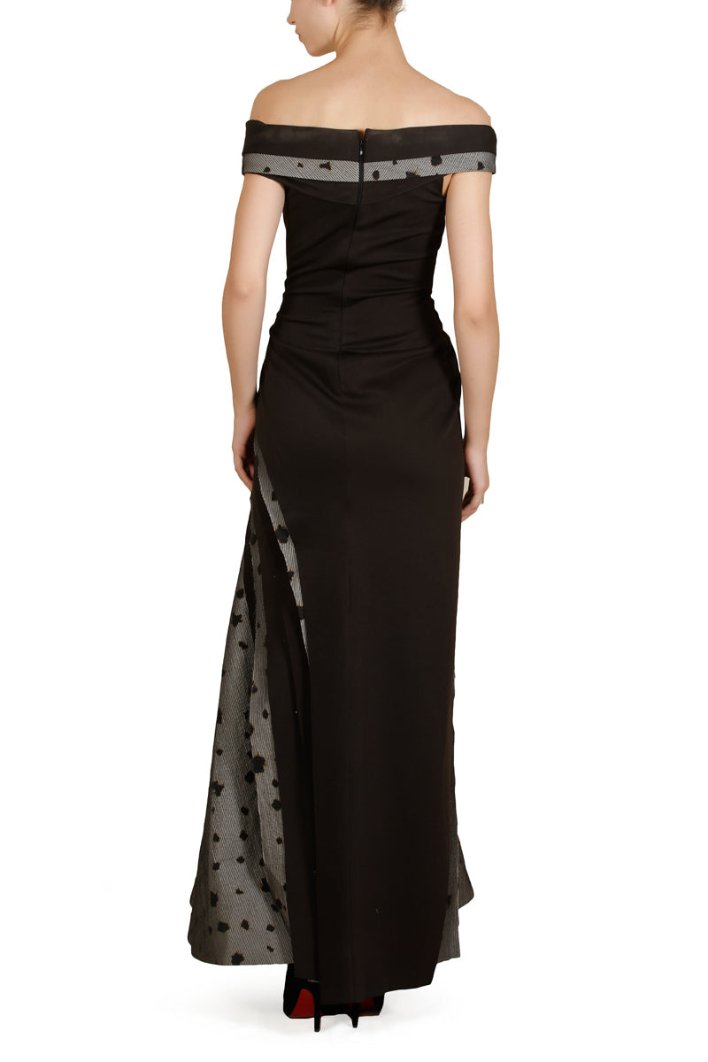 Off-Shoulder Gown