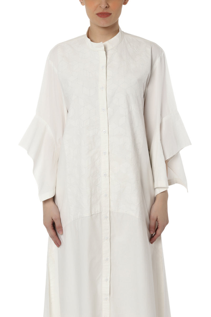 Patchwork Kurta with Sleeve Detail