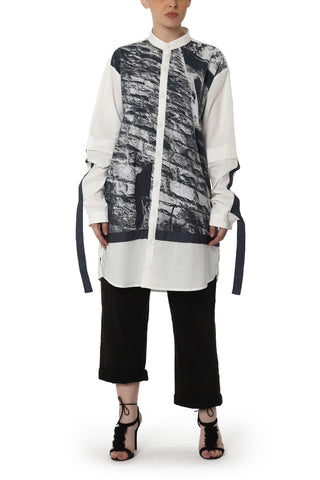 Overlap Jacket Dress