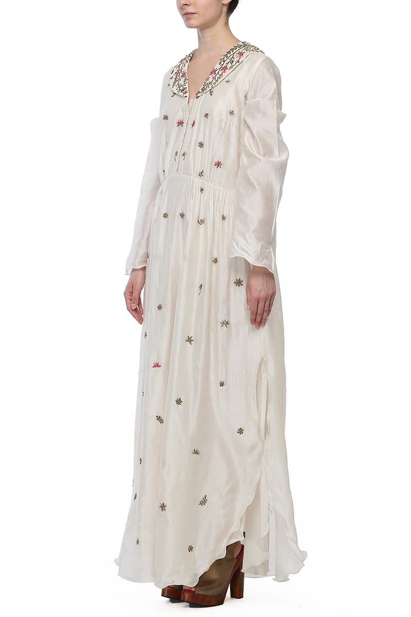 Ankle-length Embroidered Kurta