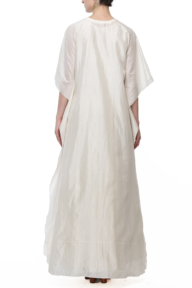 Relax fit Floor length Embroidered Kaftan