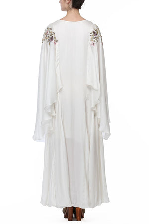 Sleeve Embroidered Kaftan