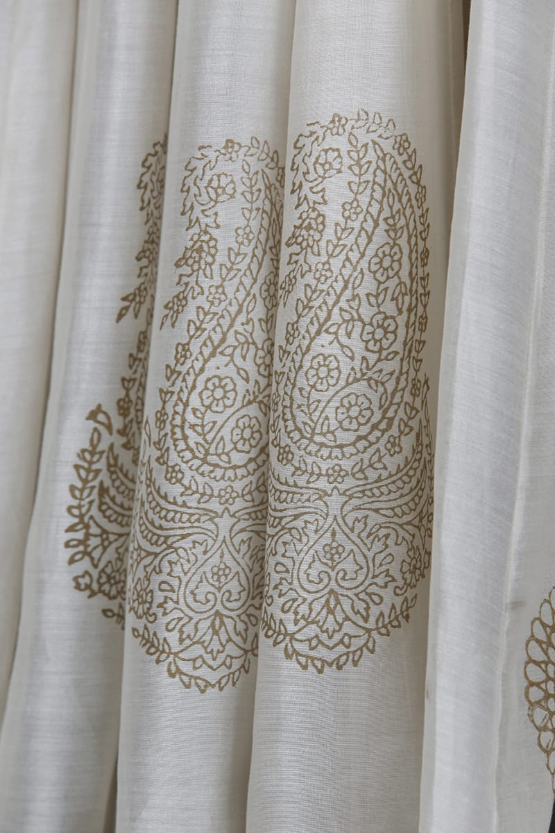 Embroidered Angrakha Kurta