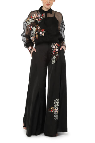 Off shoulder corset with pant