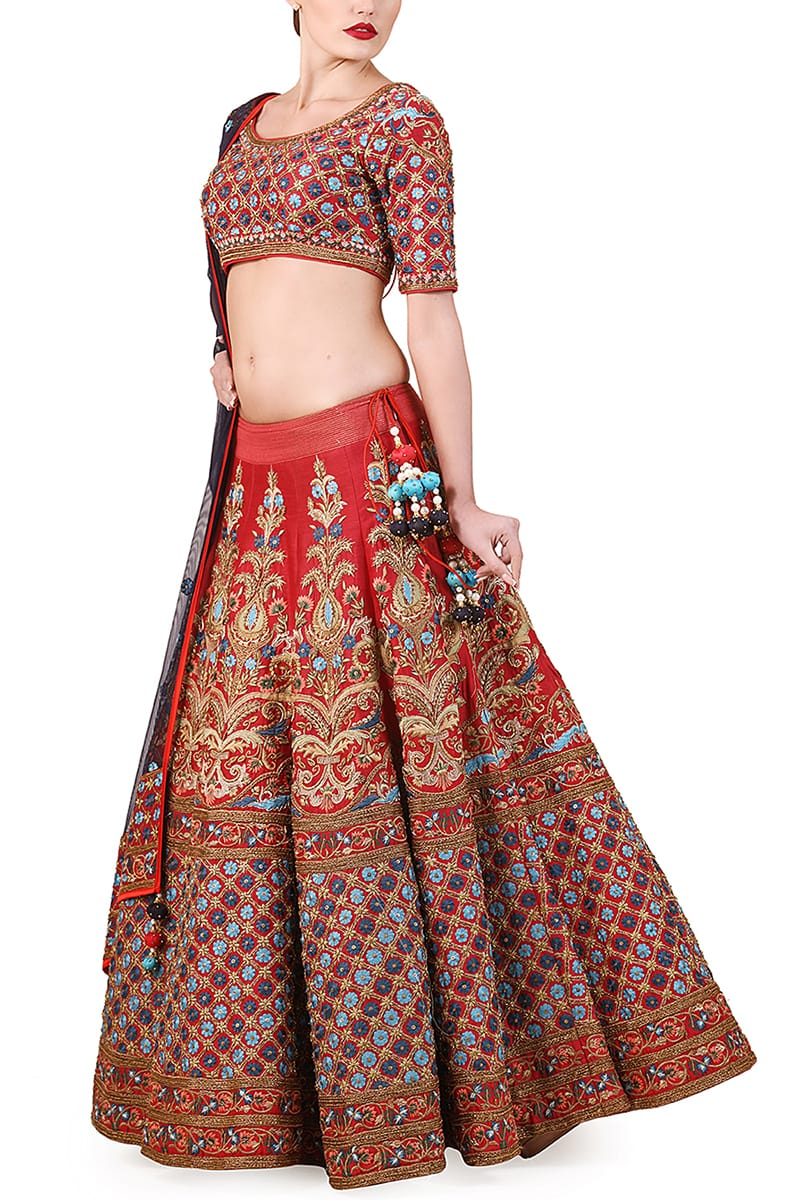 Embroidered Lehenga set