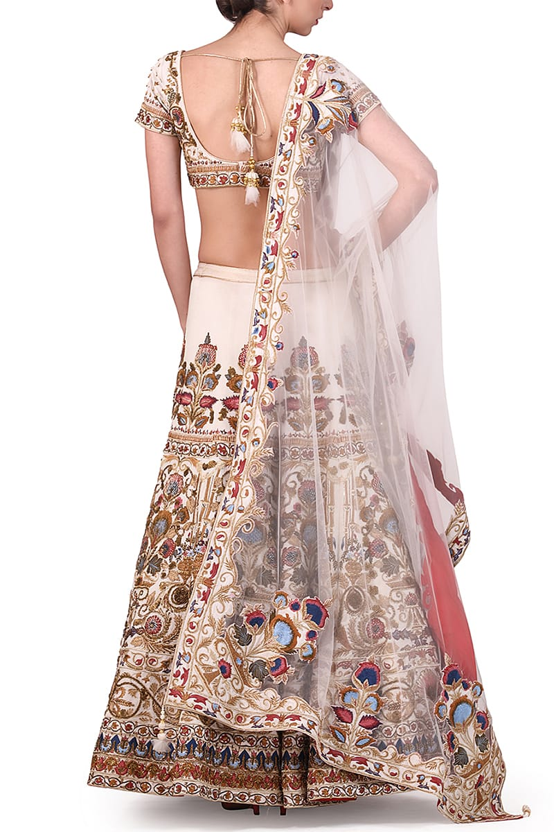 Embroidered Lehenga & Blouse set