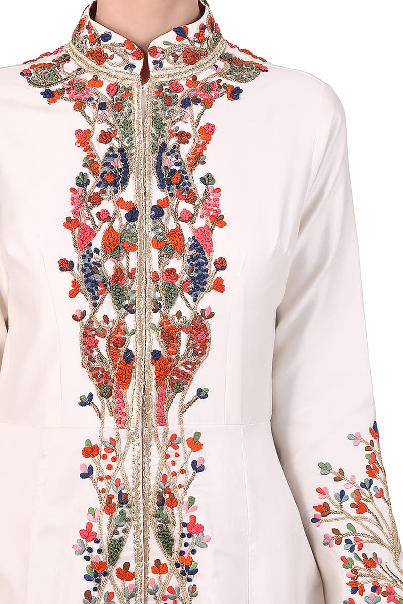 Mandarin Jacket Gown