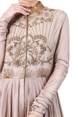 Kalidar Embroidered Kurta
