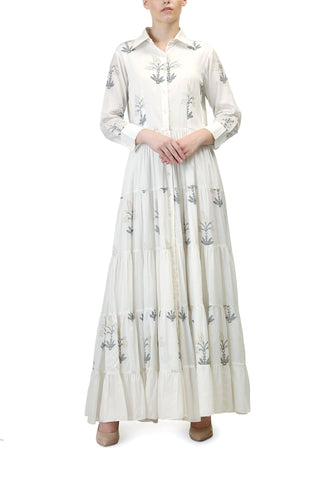 Embriodered Long Kurta