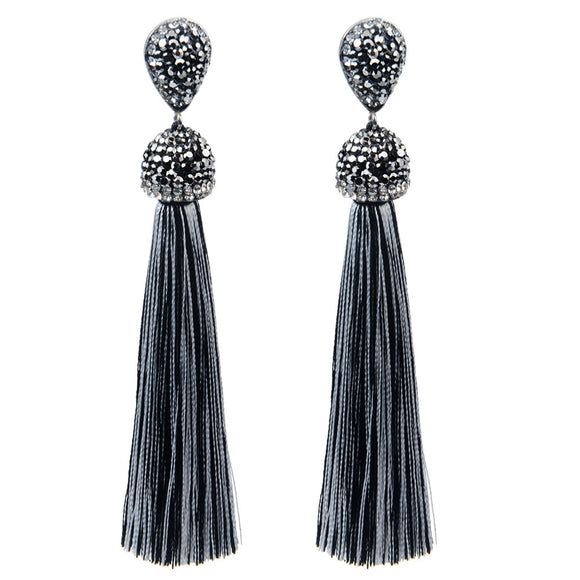 Tassel Earrings | Multiple Colours