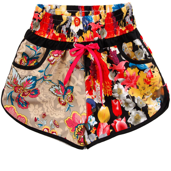 Women's Flower Print Boardshorts / Swim shorts | Multiple colours