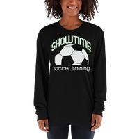 Showtime Training Long Sleeve Tee - American Apparel Unisex