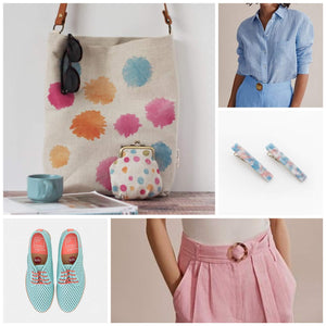 Spring style ideas - sprightly and light