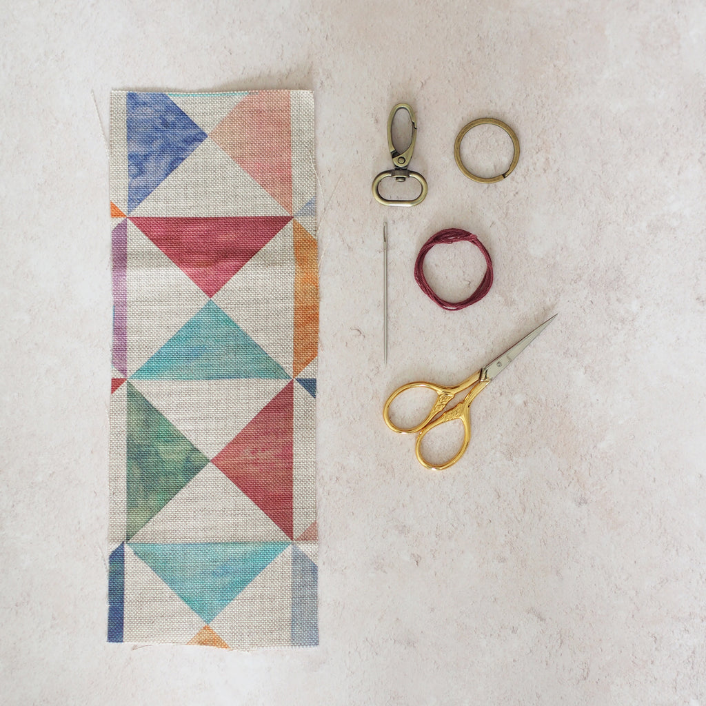 fabric and tools