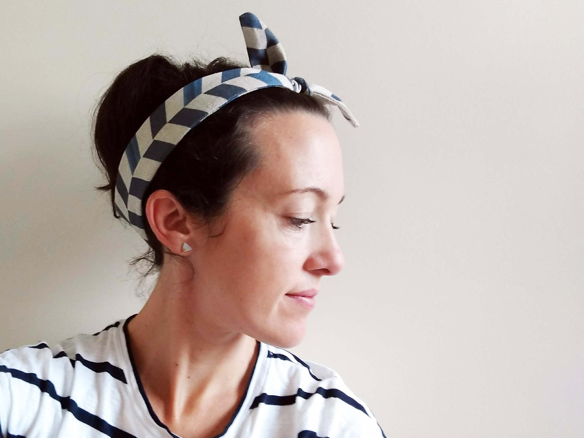 Headband - Chevron print