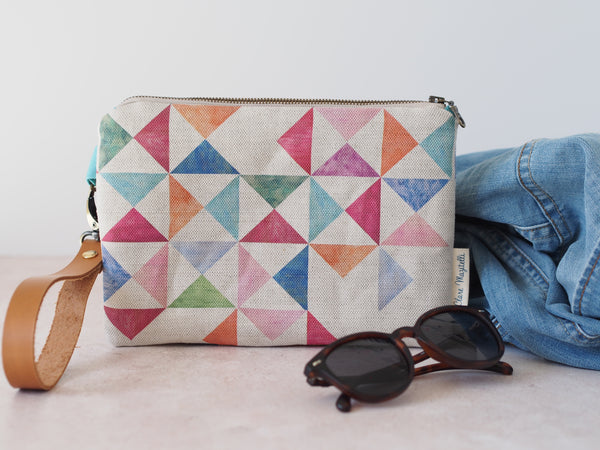 Clutch bag - Multi print