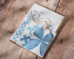 Greeting cards set - Blue pack