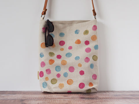 Everyday tote bag - Wattle confetti