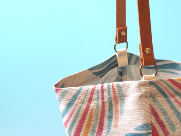 Everyday tote bag - Sunset shells