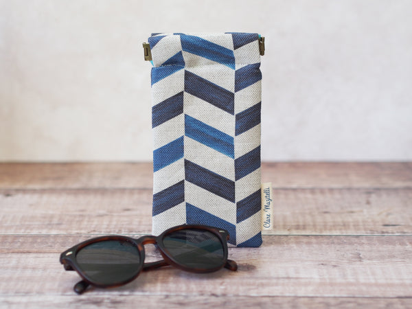 Sunglasses case - Chevron print