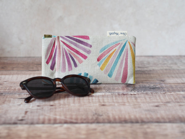 Sunglasses case - Sunset shells