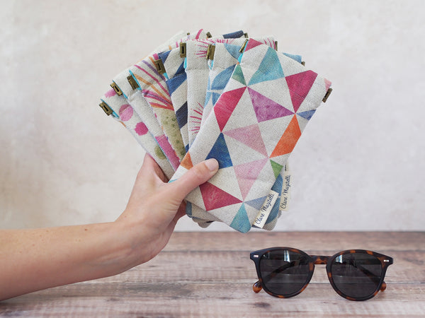 Sunglasses case - Petal print