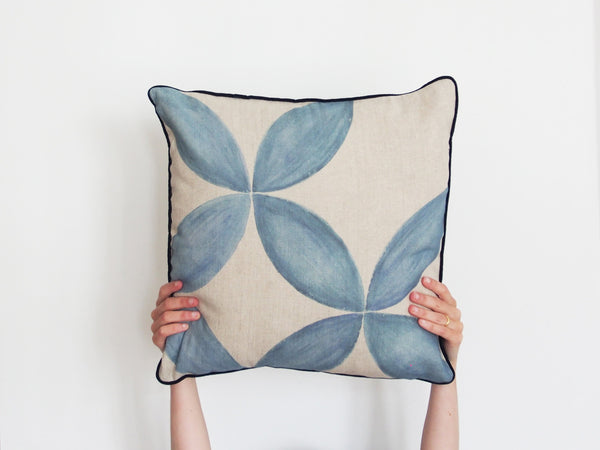 Cushion cover - Flower print - Large