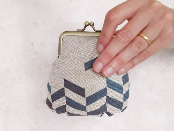 Purse - Chevron print