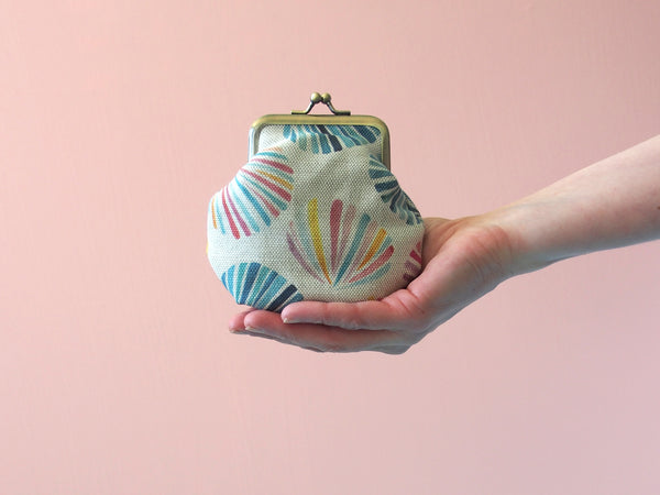Pre-order - Purse - Sunset shells