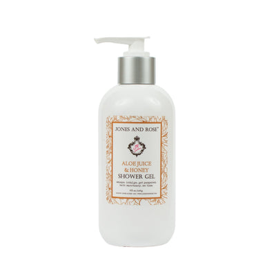 Aloe Juice and Honey Shower Gel - Jones and Rose
