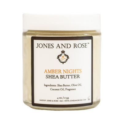 Amber Nights Shea Butter - Jones and Rose