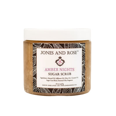 Amber Nights Sugar Scrub - Jones and Rose