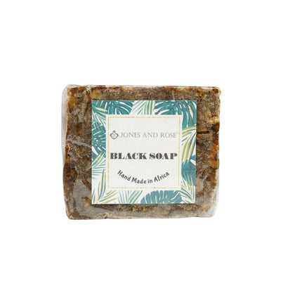 Black Soap Facial Bar - Jones and Rose