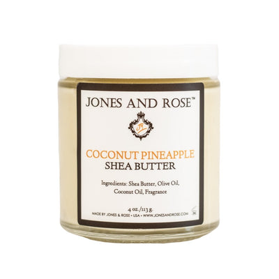 Coconut Pineapple Shea Butter - Jones and Rose
