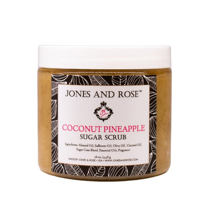 Coconut Pineapple Sugar Scrub - Jones and Rose