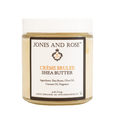 Creme Brulee Shea Butter - Jones and Rose
