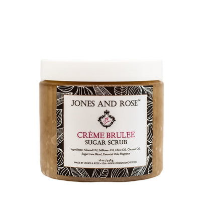 Creme Brulee Sugar Scrub - Jones and Rose
