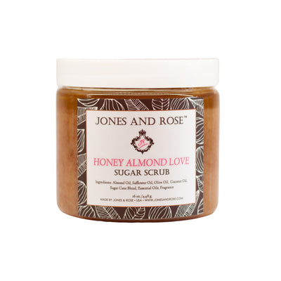 Honey Almond Love Sugar Scrub - Jones and Rose