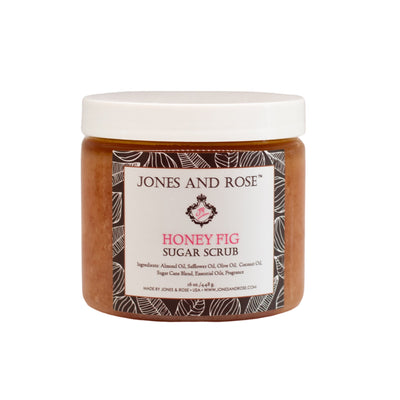 Honey Fig Sugar Scrub - Jones and Rose
