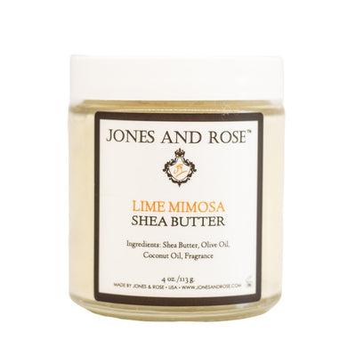 Lime Mimosa Shea Butter - Jones and Rose
