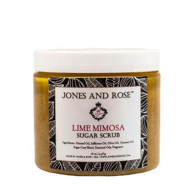 Lime Mimosa Sugar Scrub - Jones and Rose