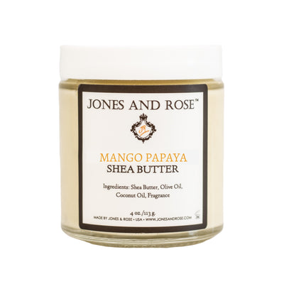 Mango Papaya Shea Butter - Jones and Rose