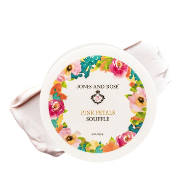 Pink Petals Body Souffle - Jones and Rose