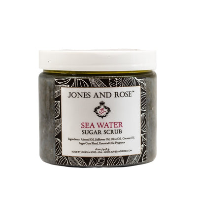 Sea Water Sugar Scrub - Jones and Rose