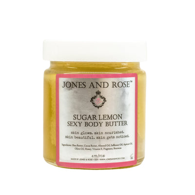 Sugar Lemon Sexy Body Butter - Jones and Rose